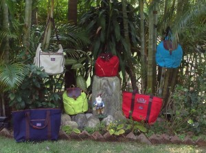 Canvas boat bags, backpacks & diaper bags
